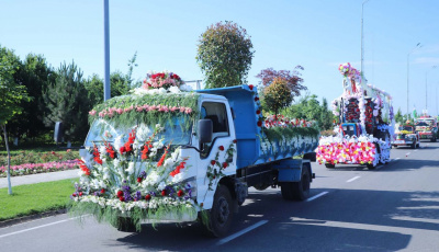 Uzbekistan Travel News: Namangan Flower Festival looking forward to a May Event in Uzbekistan